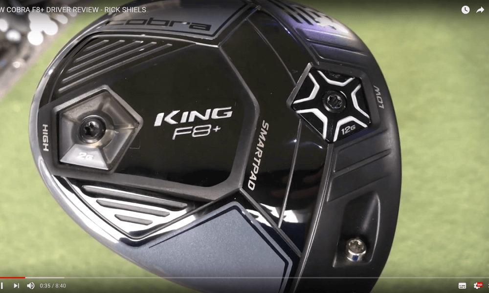 Cobra F8 plus Driver Test Video