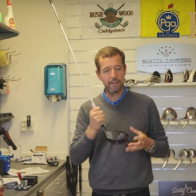Custom fitting med PGA Professional David Leet!