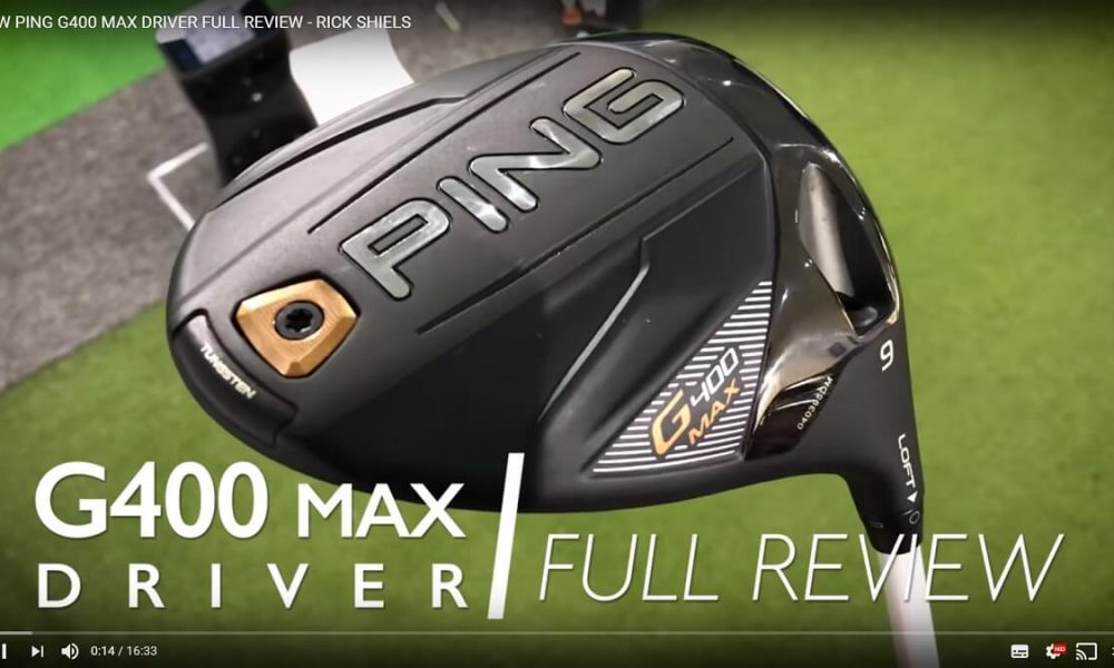 PING G400 Max Driver test