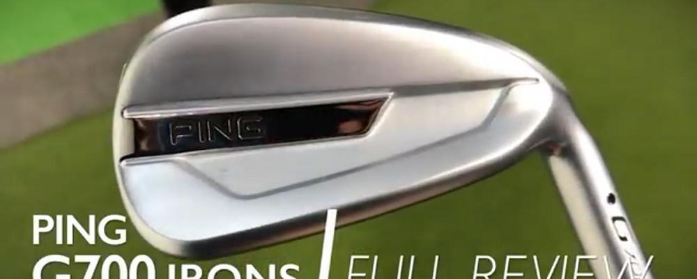 PING G700 Järn test Video
