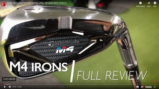 TaylorMade M4 Järn test – Video