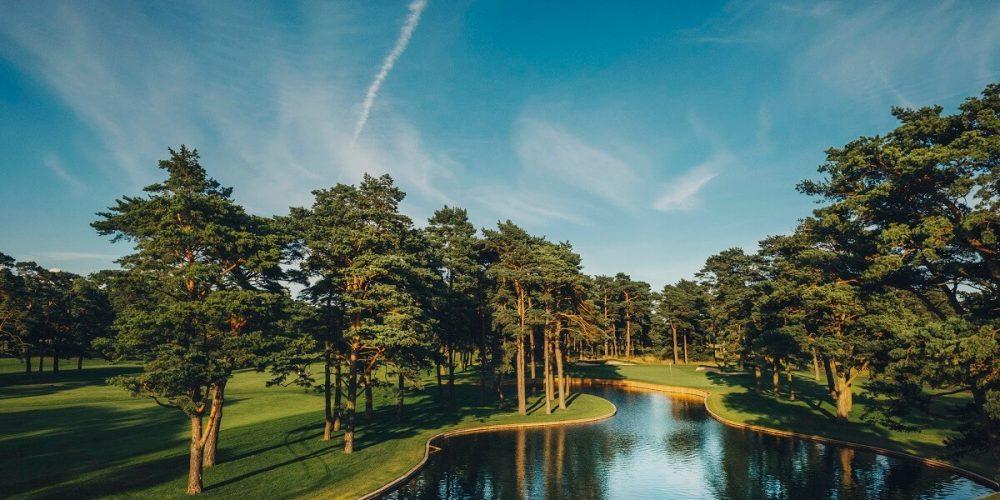 Golf på Kristianstads Golfklubb i Åhus