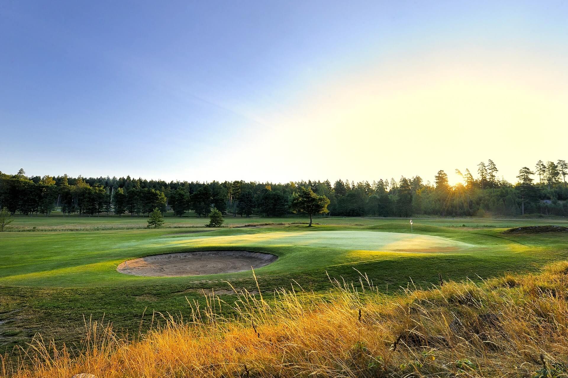 Golf I Mellansverige Golfklubbar Och Hotell I Mellersta